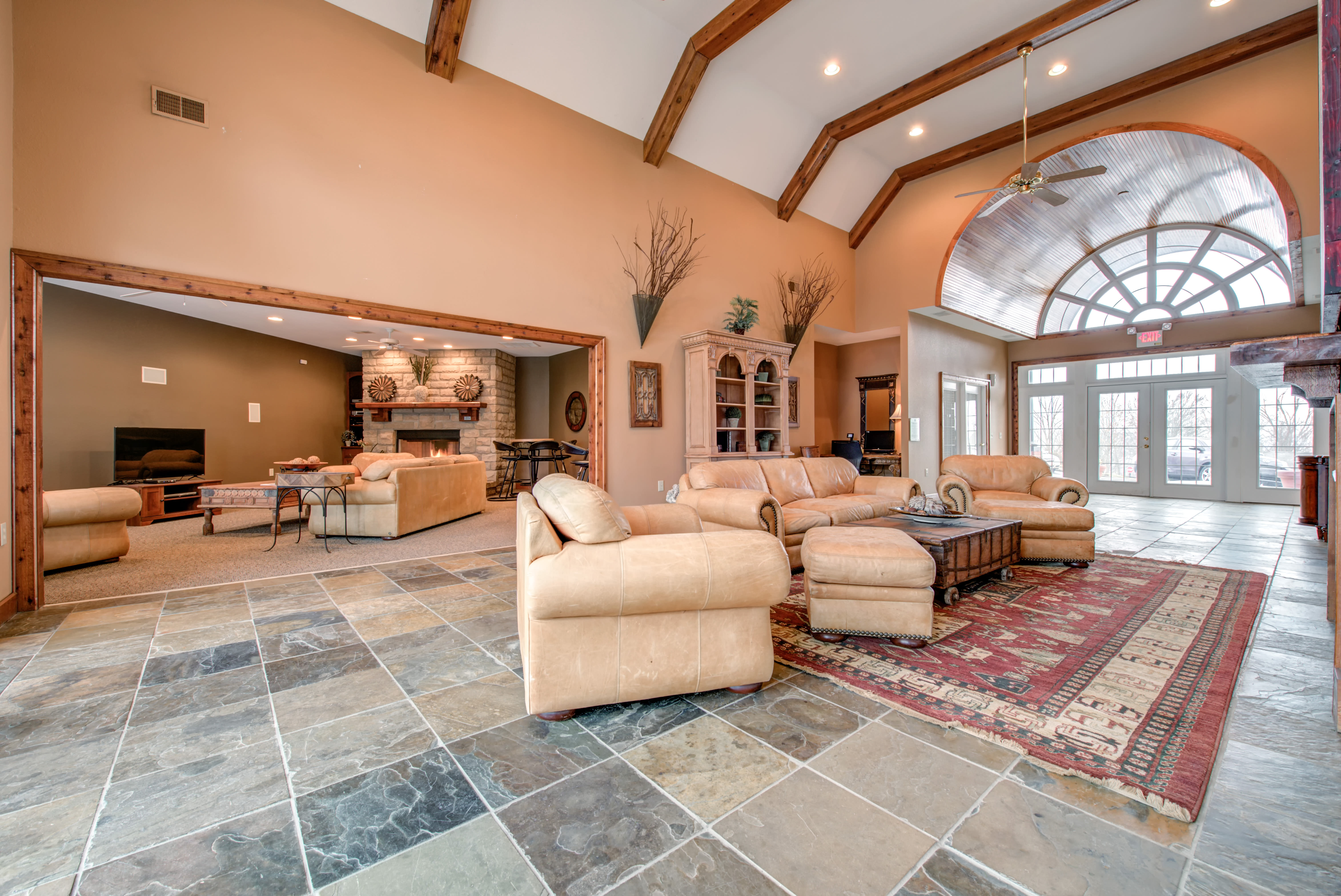 Spacious Common Area at Renaissance St. Andrews in Louisville, Kentucky.