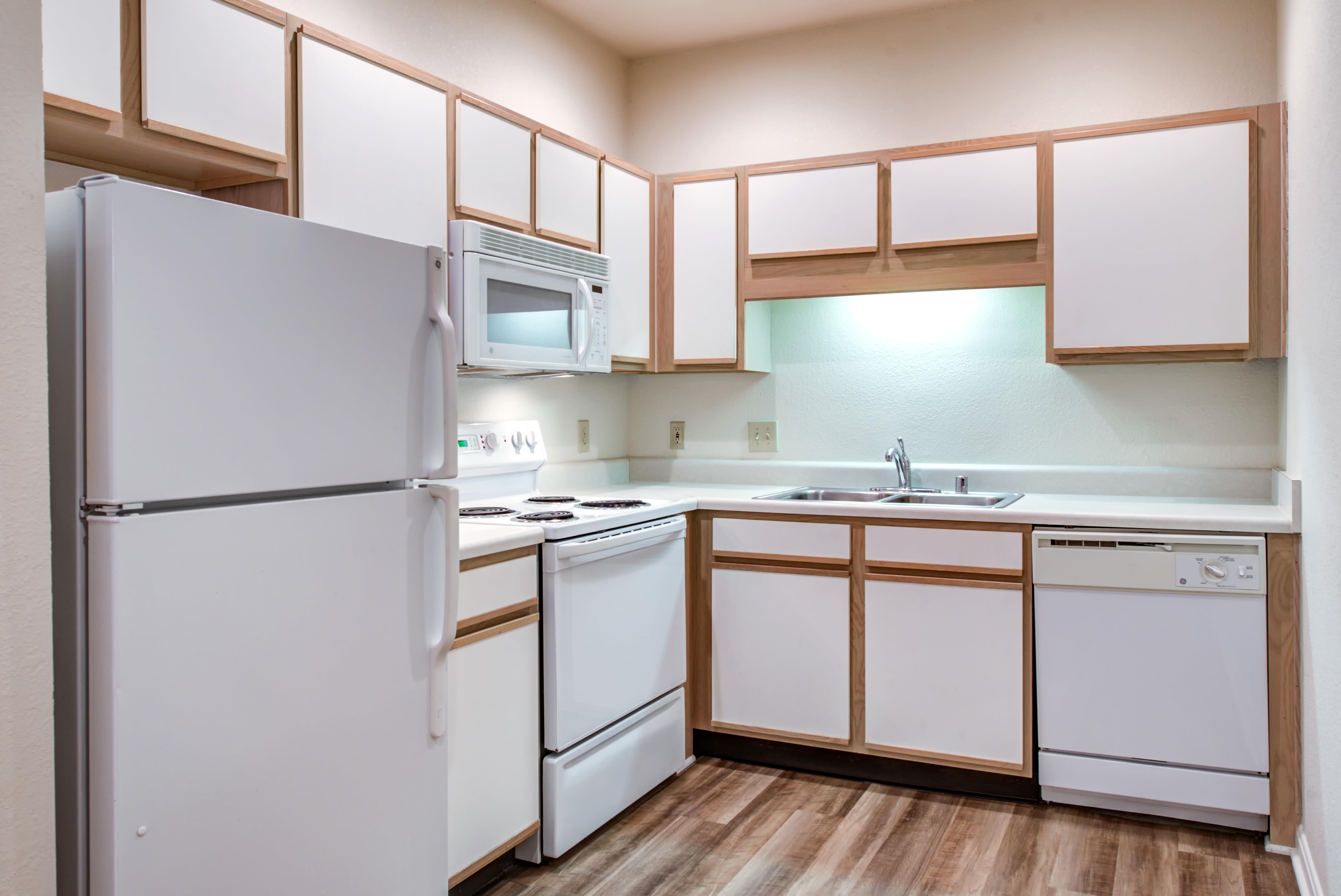 Enjoy our modern apartments kitchen at Renaissance St. Andrews
