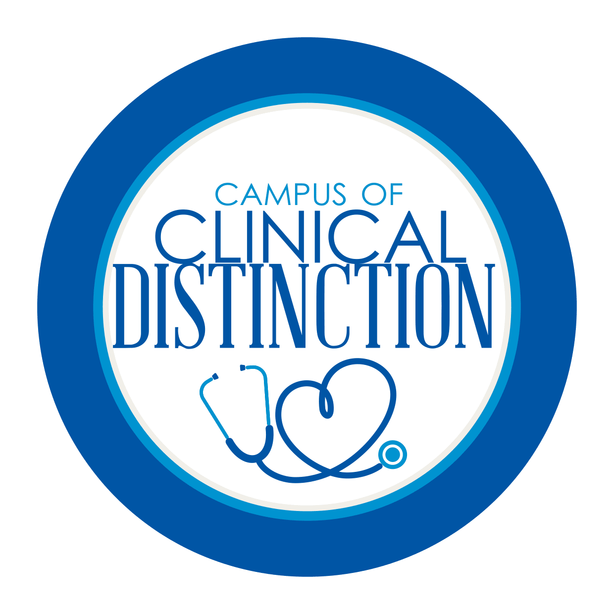 Logo for the Campus of Clinical Distinction at Trilogy Health Services in Louisville, Kentucky
