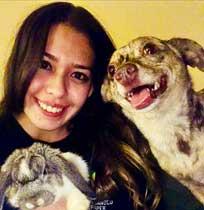Luvina Lucero at Albuquerque Animal Hospital