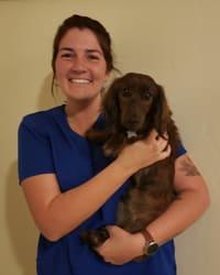 Alexia at Tucson Animal Clinic