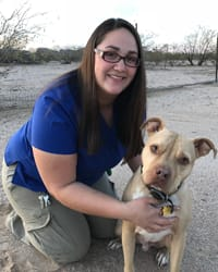 Whitney at Tucson Animal Clinic