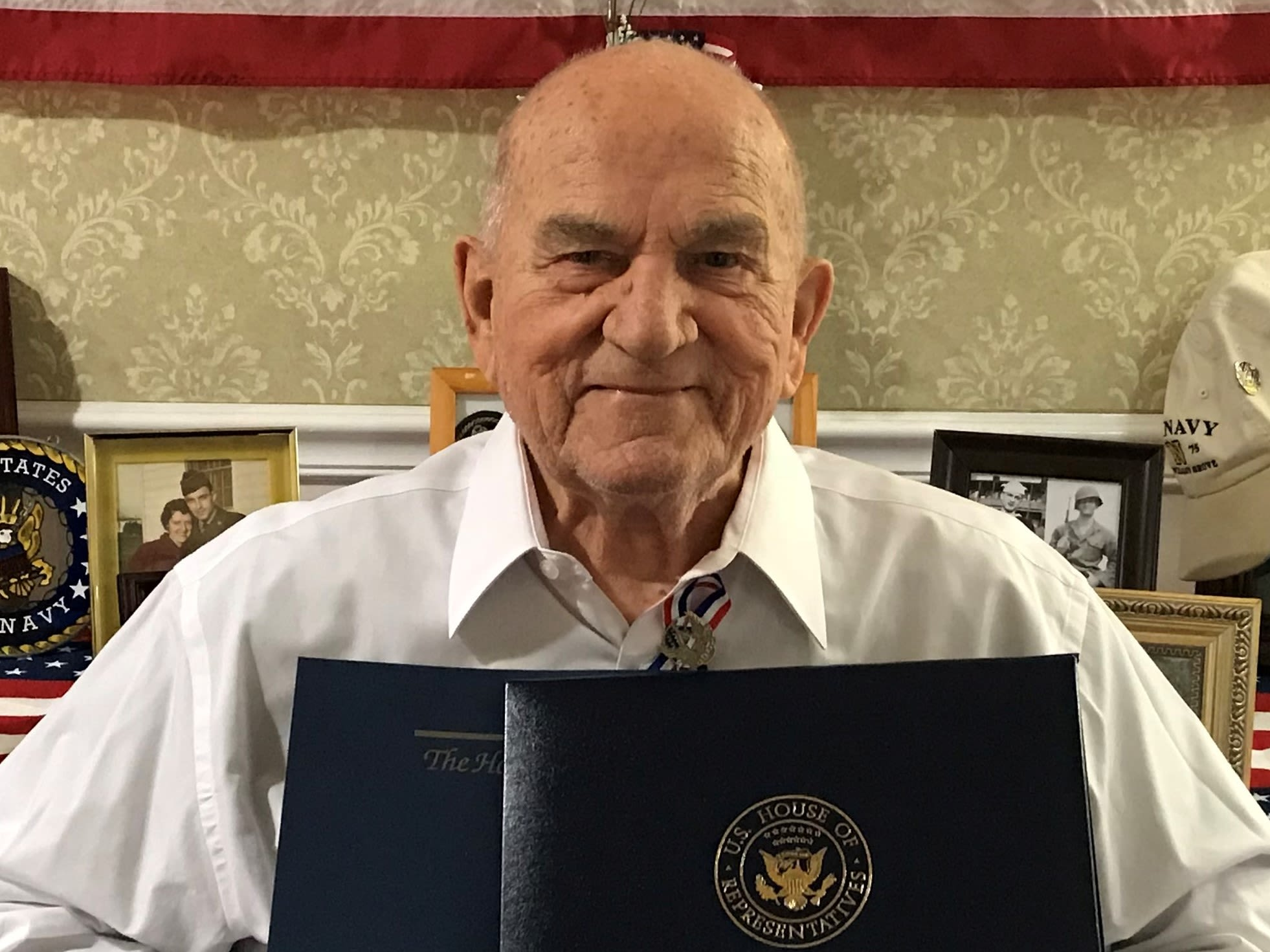 George Bolinsky at Heritage Hill Senior Community in Weatherly, Pennsylvania