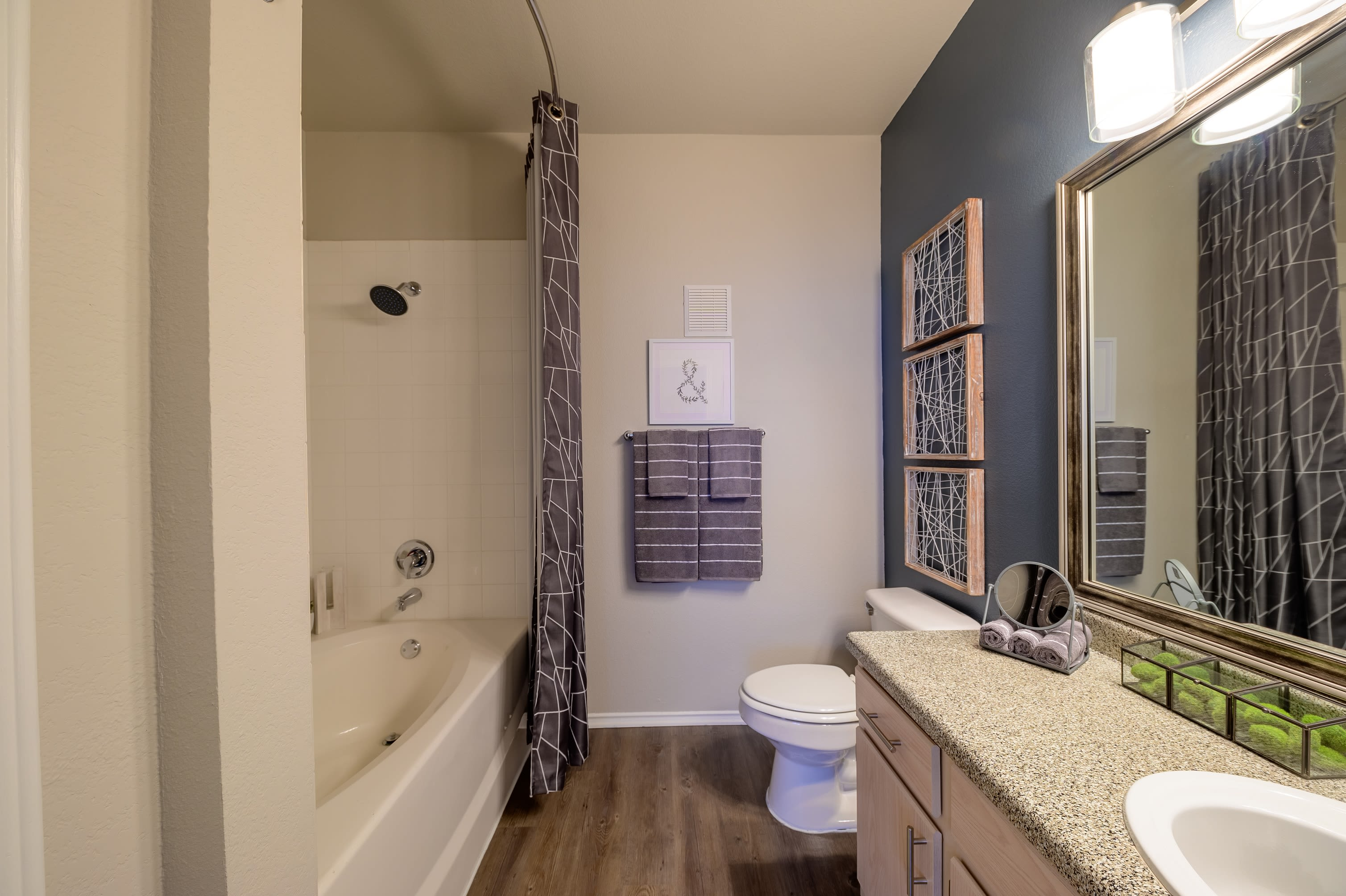 23Hundred at Ridgeview offers a luxury bedroom in Plano, Texas