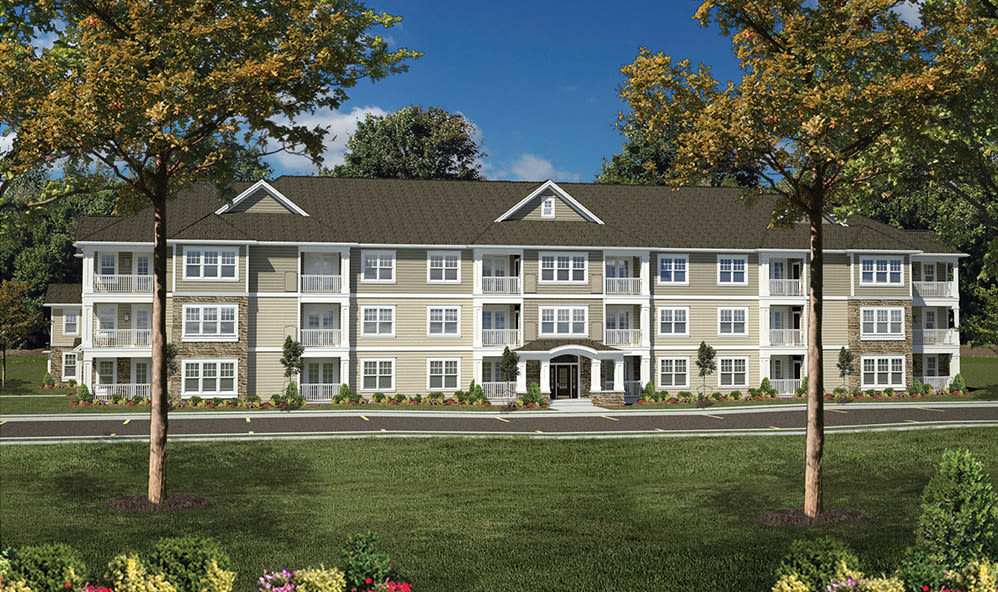 Phase two rendering of new apartments in Rochester, New York