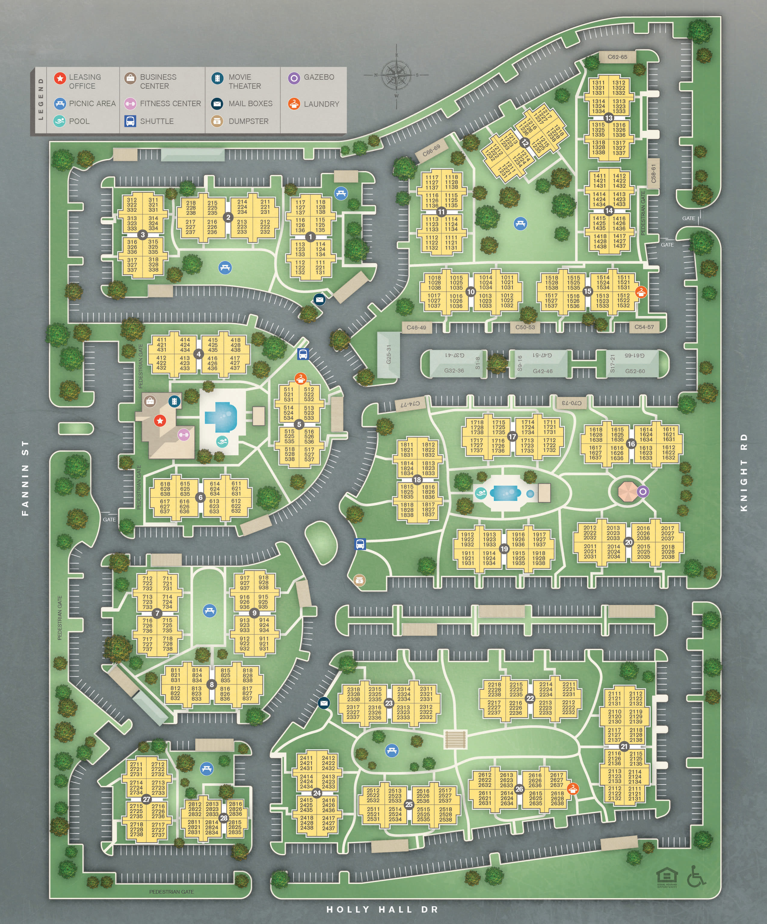 Map Of Texas Medical Center.Affordable Studio 1 2 3 Bedroom Apartments In Houston Tx