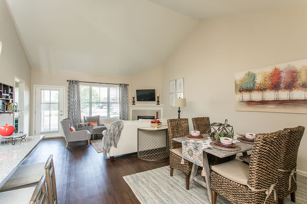 Beautifully designed spaces for your comfort at Orchard View Senior Apartments home