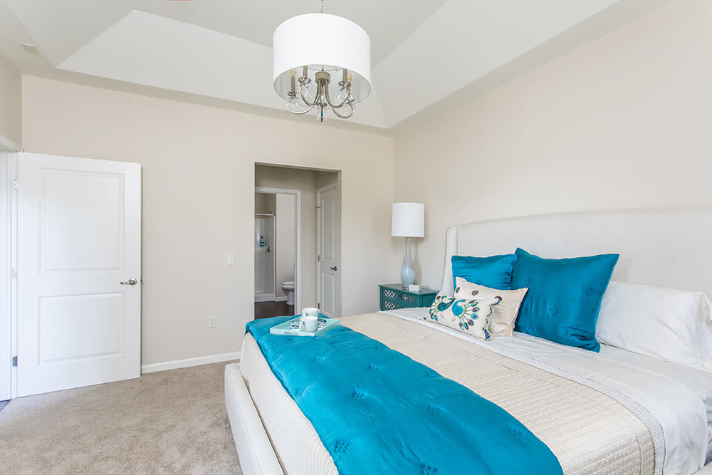Orchard View Senior Apartments offers a state-of-the-art bedroom in Rochester, New York