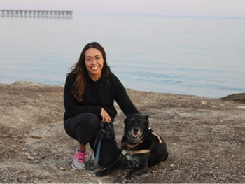 Dr. Sonia Lopez at East Ventura Animal Hospital