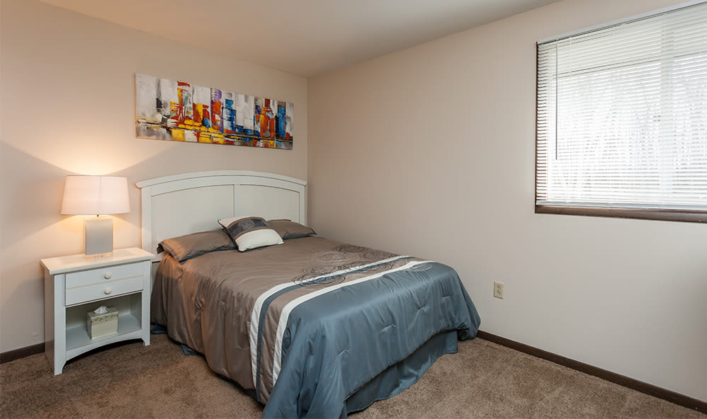 Our apartments in Tonawanda, NY showcase a luxury bedroom