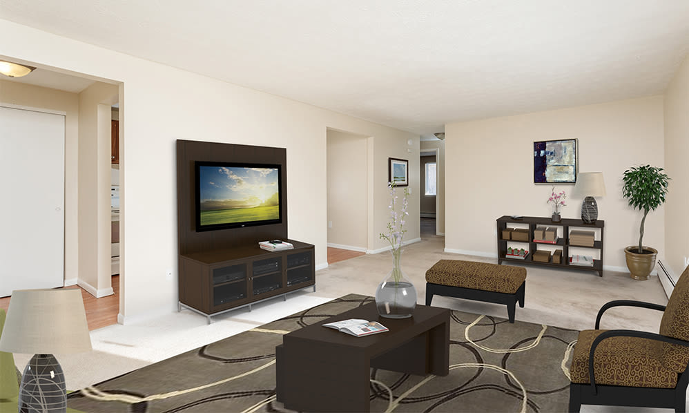 Ample living space at Willowbrooke Apartments and Townhomes in Brockport, NY