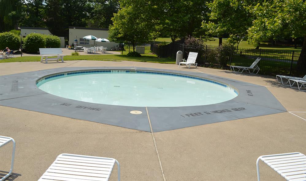 Riverton Knolls swimming pool in West Henrietta