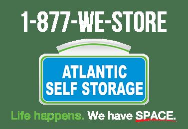 Life happens - we have space at Atlantic Self Storage in Jacksonville, FL