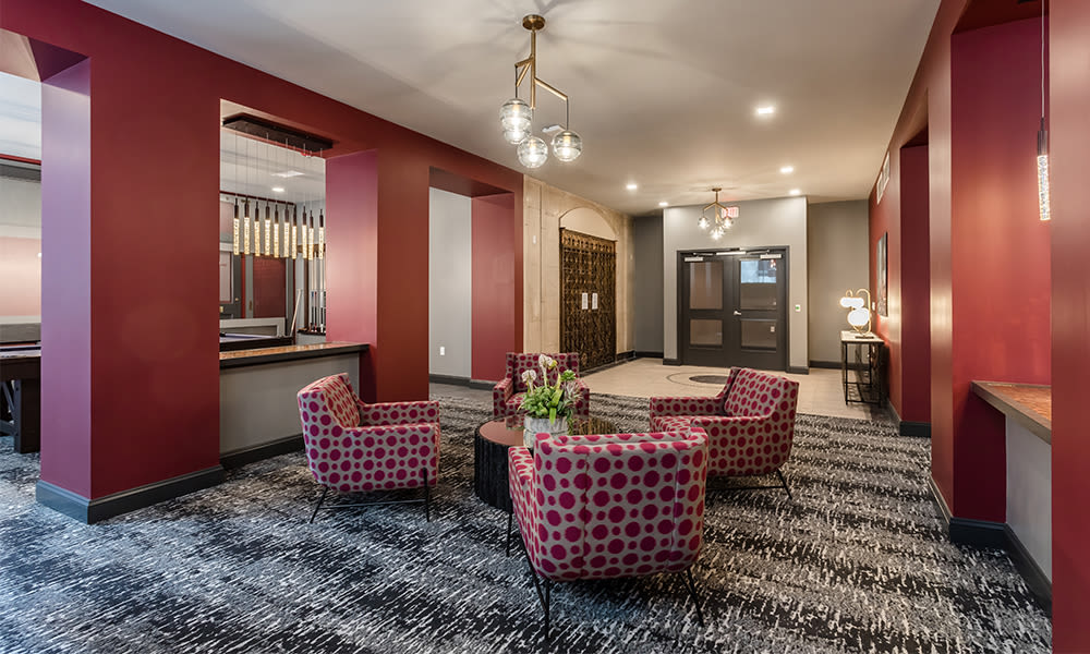The Linc offers a beautiful clubhouse in Rochester, New York