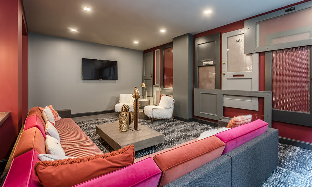 Enjoy apartments with a unique clubhouse at The Linc