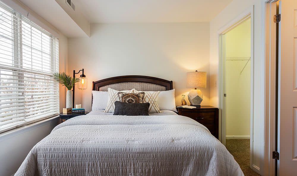 Enjoy a beautiful bedroom at Village of Westover