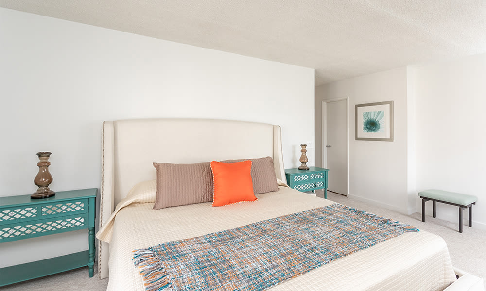 Enjoy apartments with a bedroom at The Venue