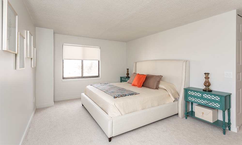 Apartments with a spacious bedroom
