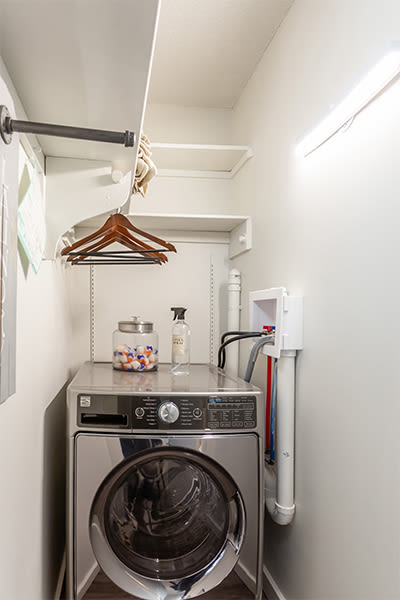 Washer and dryer at The Venue in Rochester, New York