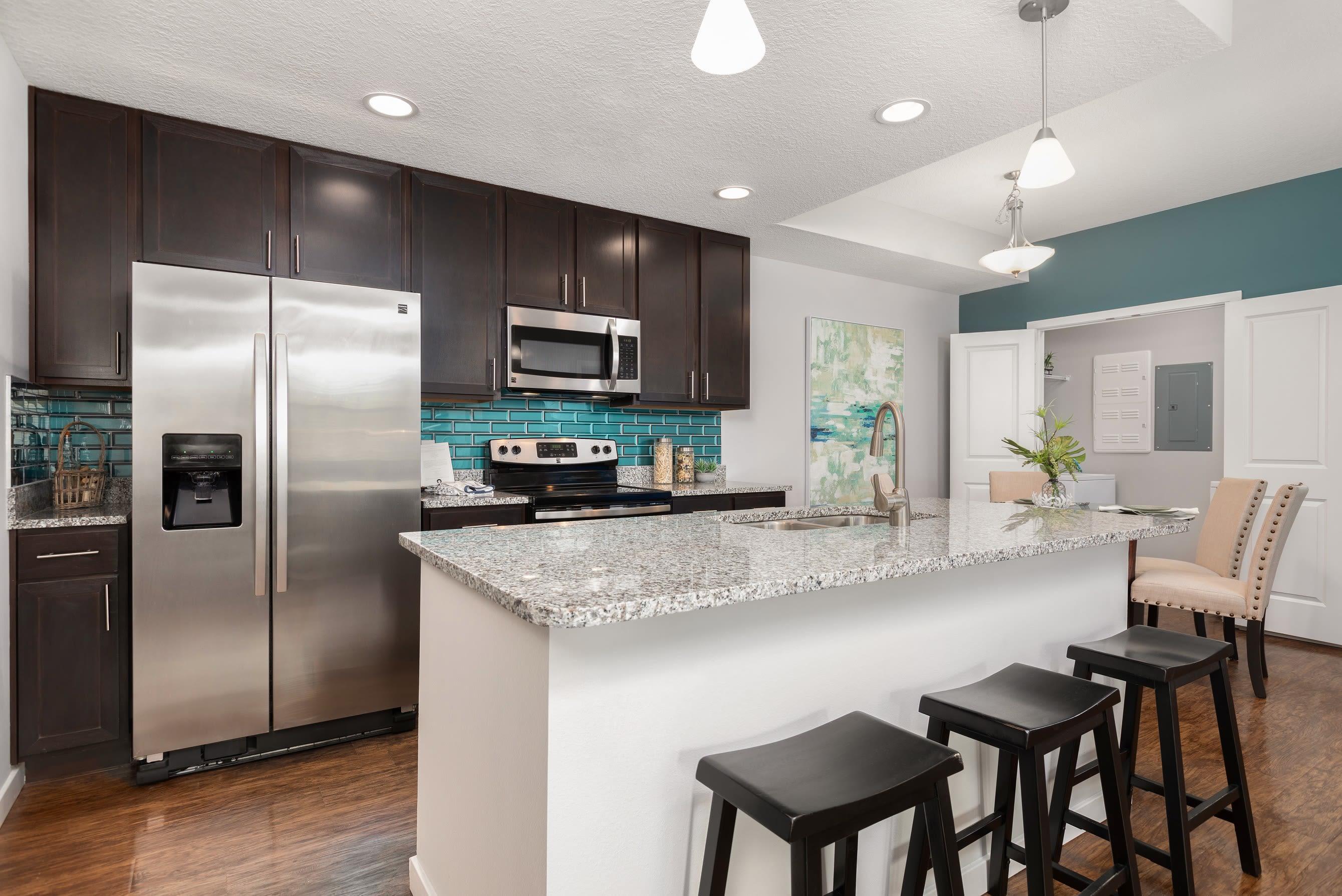 High Ridge Landing spacious kitchen in Boynton Beach, Florida
