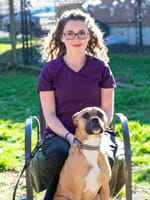 Annie at Tigard animal hospital