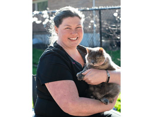 Dr. Taylor Miller at Tigard Animal Hospital