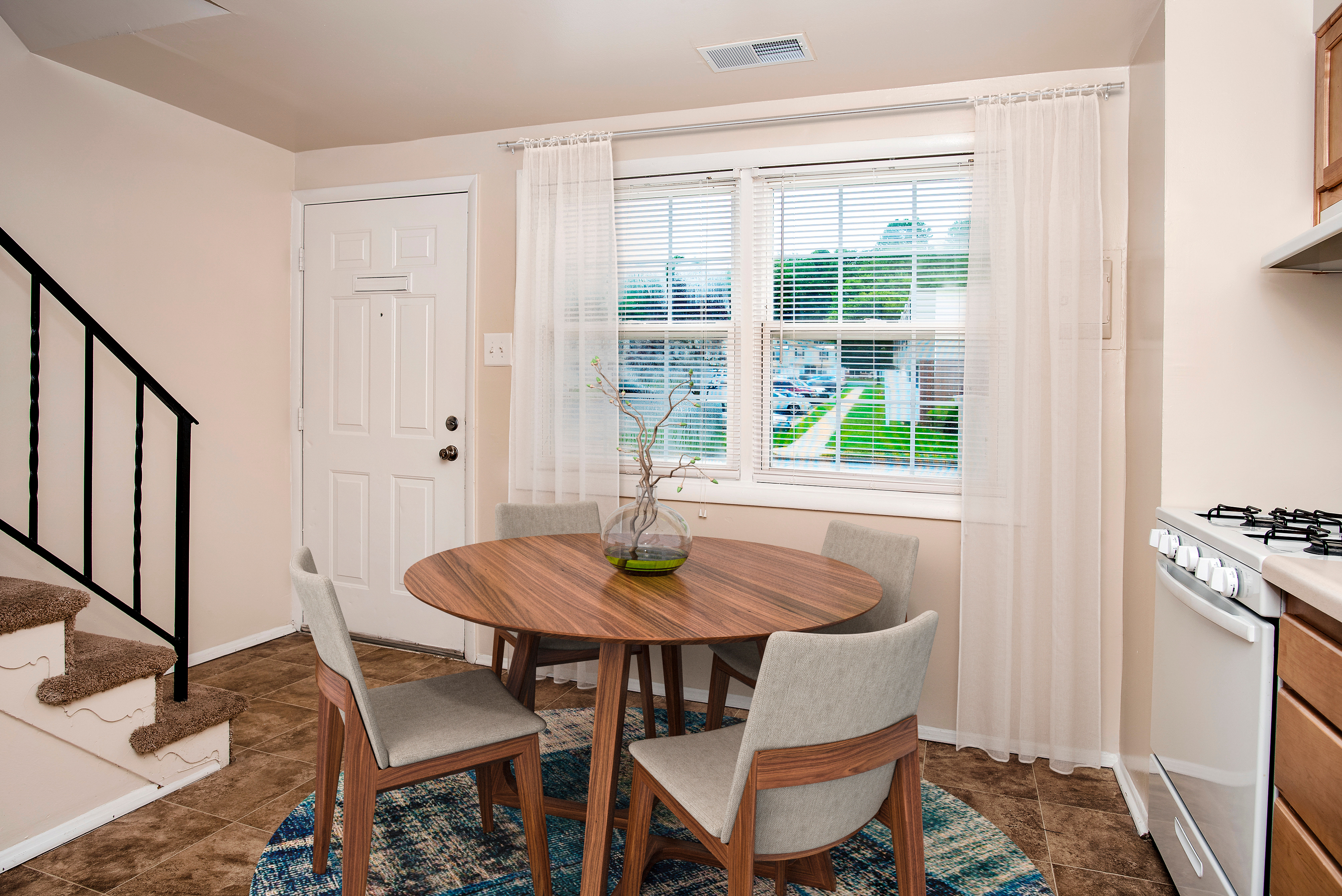 Beautiful kitchen at apartments in Rosedale, Maryland