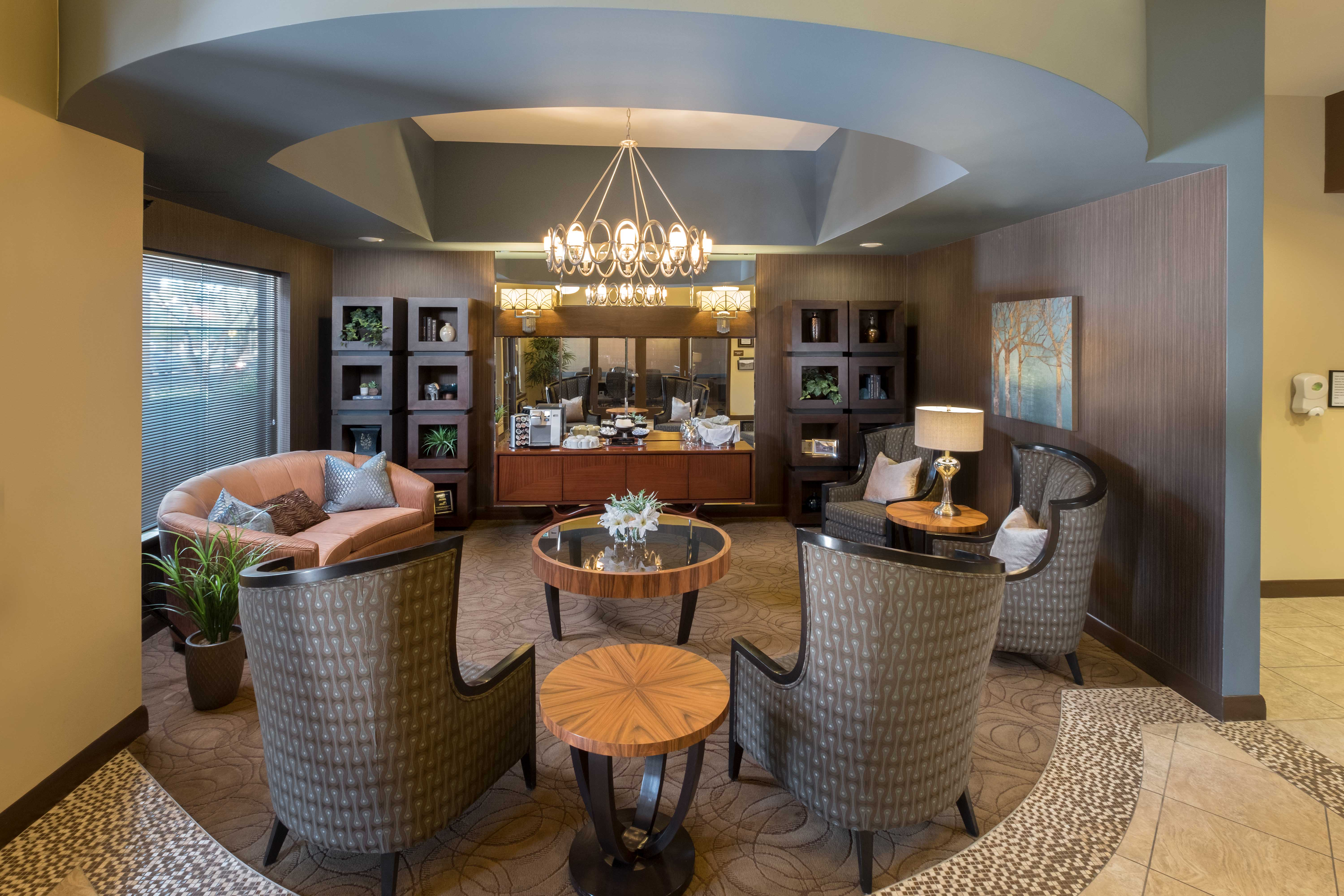 Lounge seating for residents at Avenir Memory Care at Surprise in Surprise, Arizona