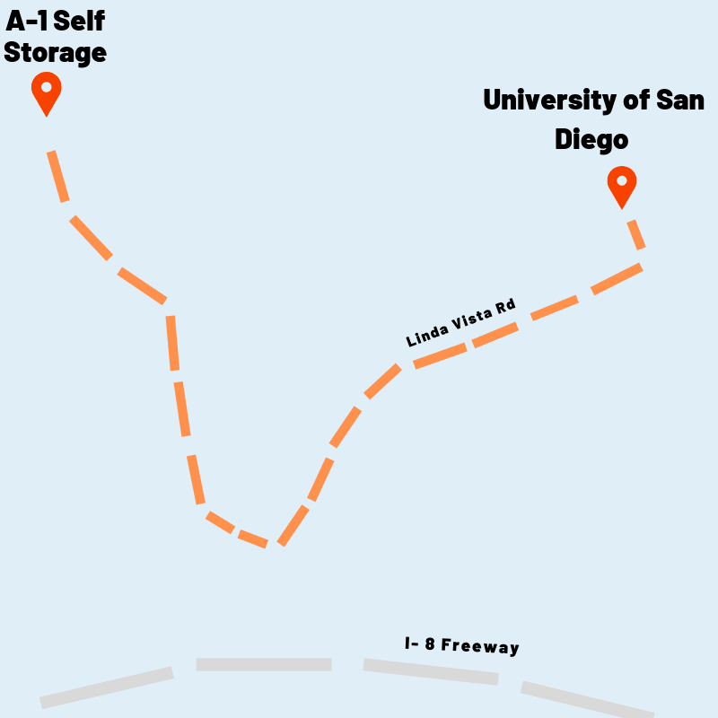map to ucsd