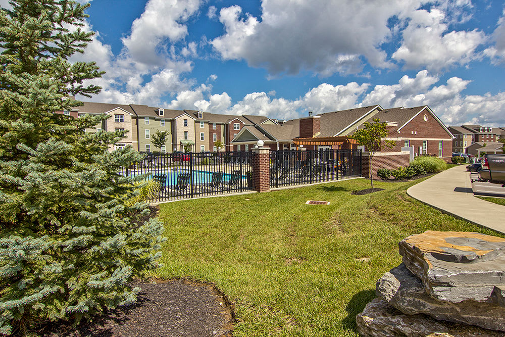 Pool at apartments in Elsmere, KY