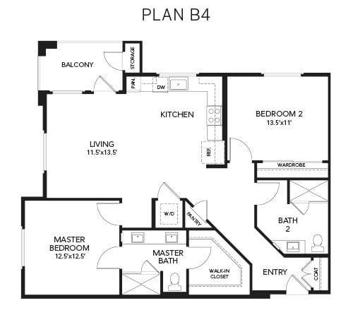 1 & 2 Bedroom Senior Apartments In Palm Desert, CA