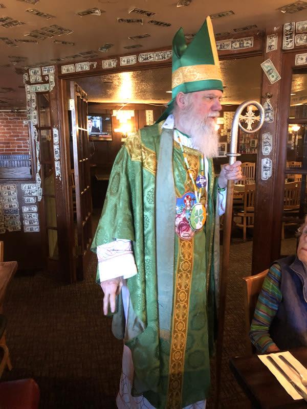 seniors at Irish pub in Spokane