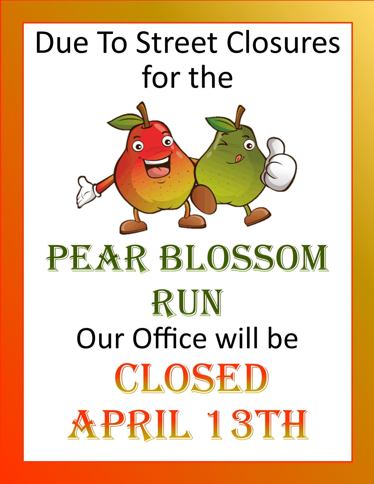 Pear Blossom Closure