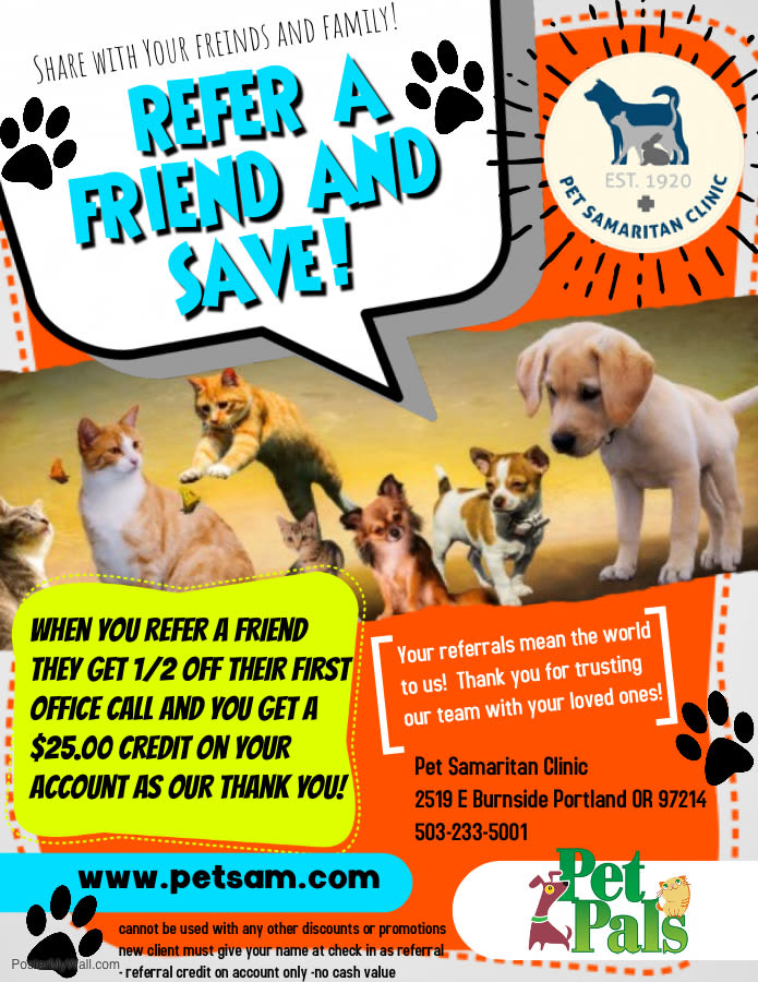 Pet Pals promotion
