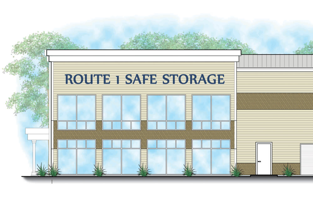 Clean self storage units at Safe Storage in Kennebunk, Maine