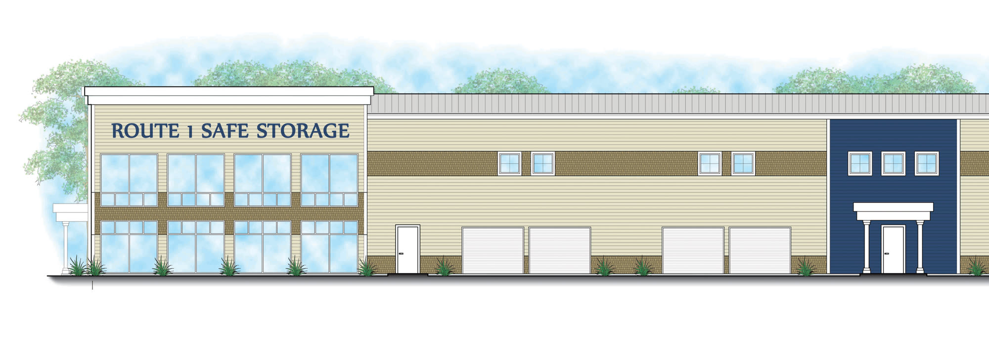 Self storage at Safe Storage in Kennebunk, Maine