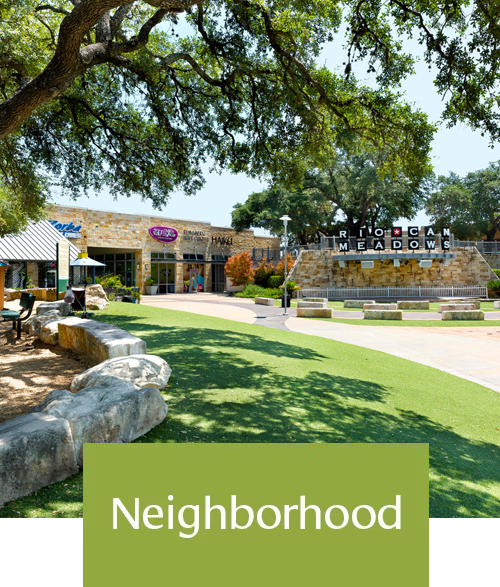 Neighborhood at Affinity at Southpark Meadows in Austin, TX