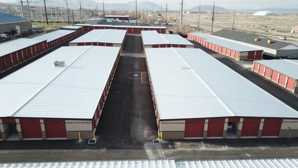Storage units at Towne Storage in Orem, Utah
