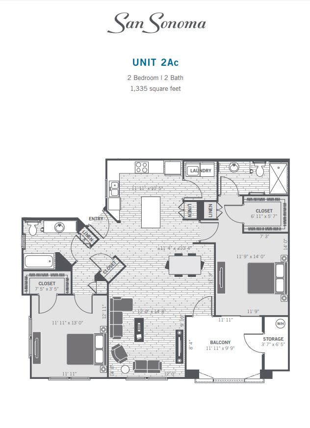 2Ac 2D floor plan
