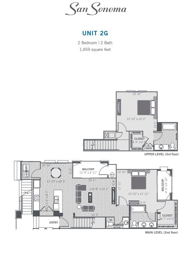 2G 2D floor plan