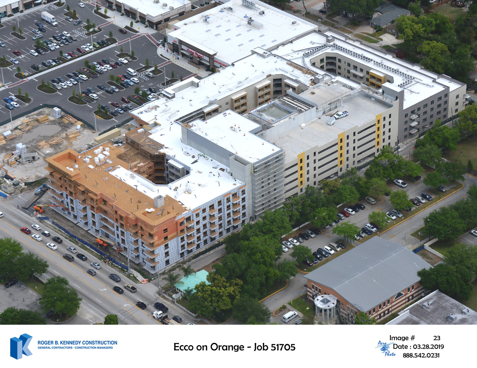 Construction Update ECCO on Orange