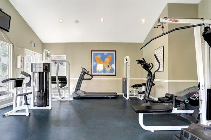 Fitness center at Allegro on Bell in Antioch, Tennessee