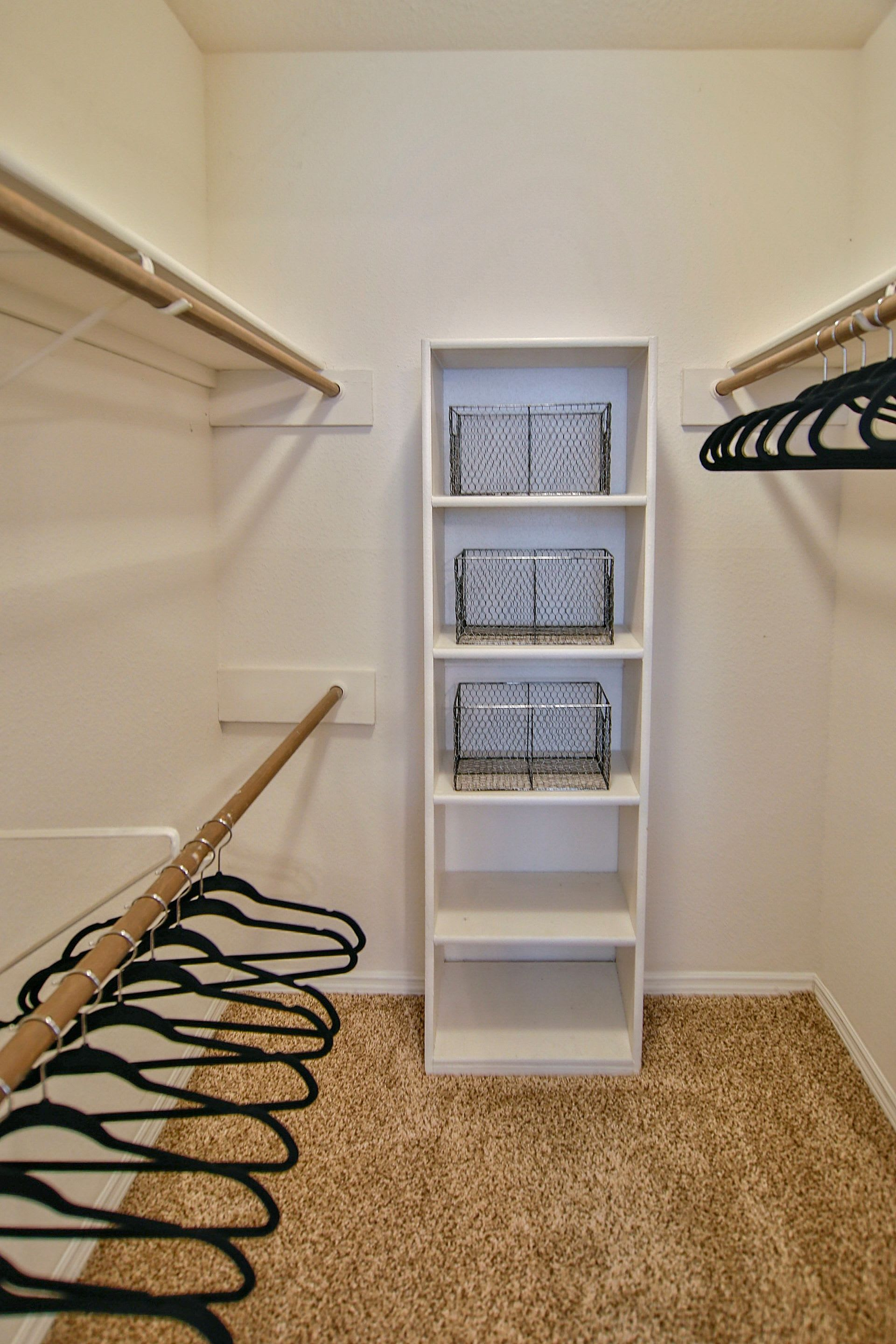 Large walk in closet at Allegro on Bell in Antioch, Tennessee