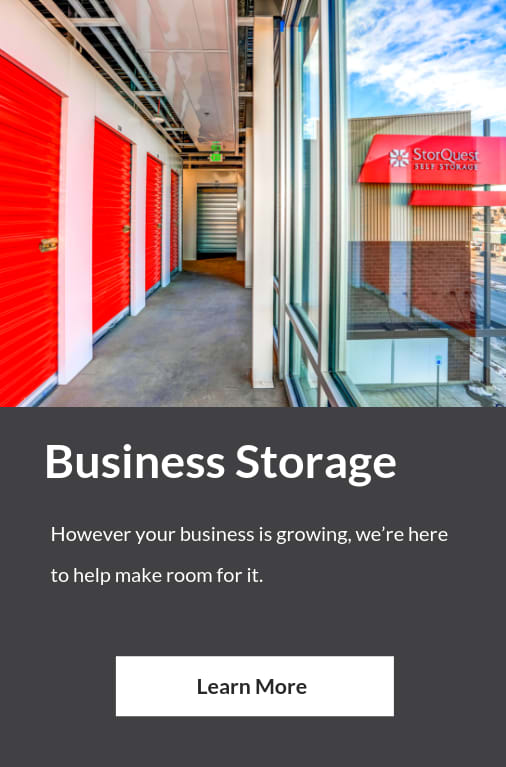 Business Storage at StorQuest Self Storage in Santa Monica, CA
