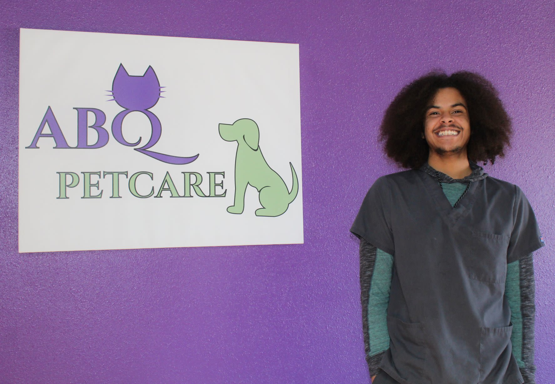 Adam Veterinary Technician at ABQ Petcare Hospital
