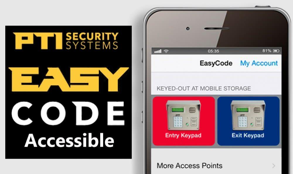 Yellow Door Storage in Argyle, Texas is easy code accessible
