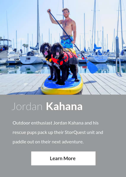 Meet Jordan Kahana, an ambassador for StorQuest Self Storage in Santa Monica, California