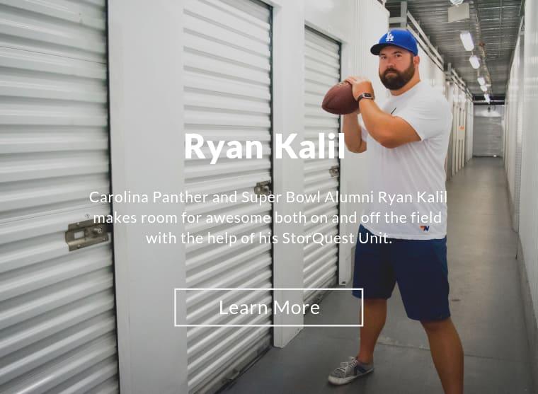 Meet Ryan Kalil, an ambassador for StorQuest Self Storage in Santa Monica, California