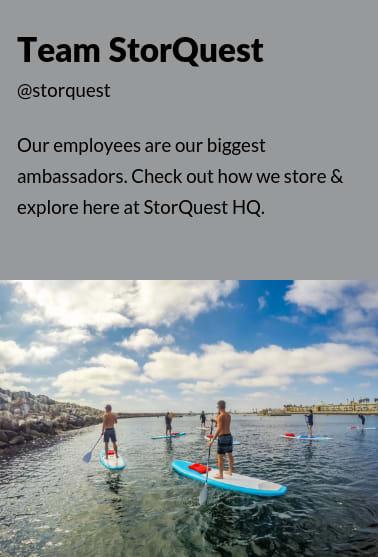 Team StorQuest , ambassadors for StorQuest Self Storage in Santa Monica, California