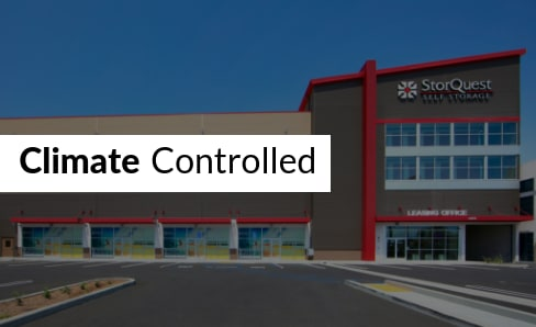 Climate Controlled Storage at StorQuest Self Storage